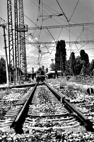 poduene station 2020.07 as graphic bw
