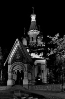 russian.orthodox.church.2008.night.01 as graphic bw