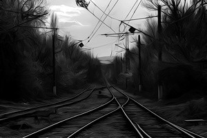 railways 2015.02 as dream bw