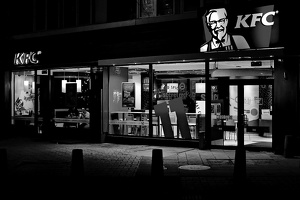 KFC night 2016.02 as bw